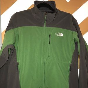 The north face fleece lined jacket